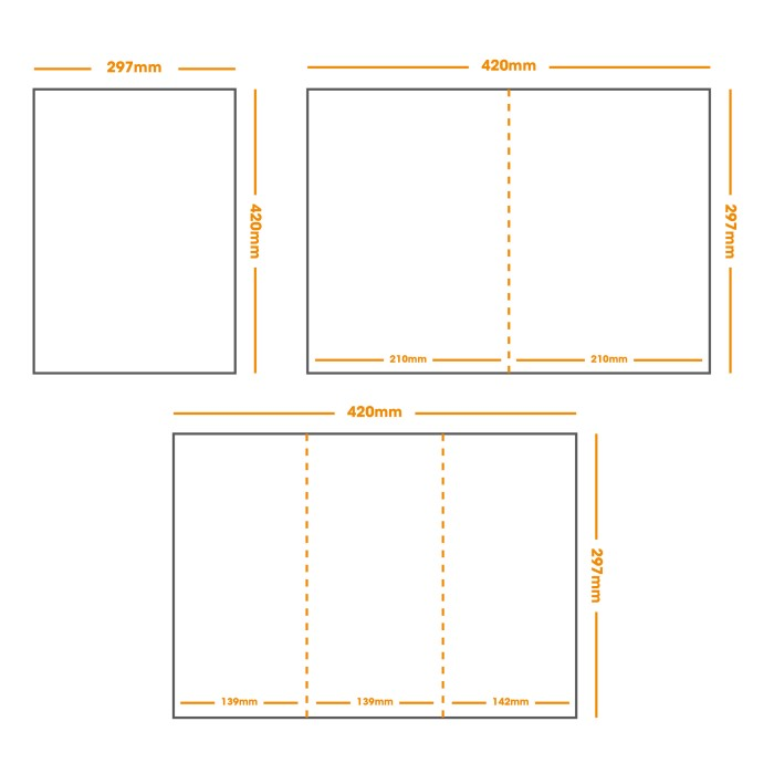 A3 Food/Wine Menus (EAT-IN) Double sided