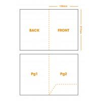 A5 Oversized Document Folder